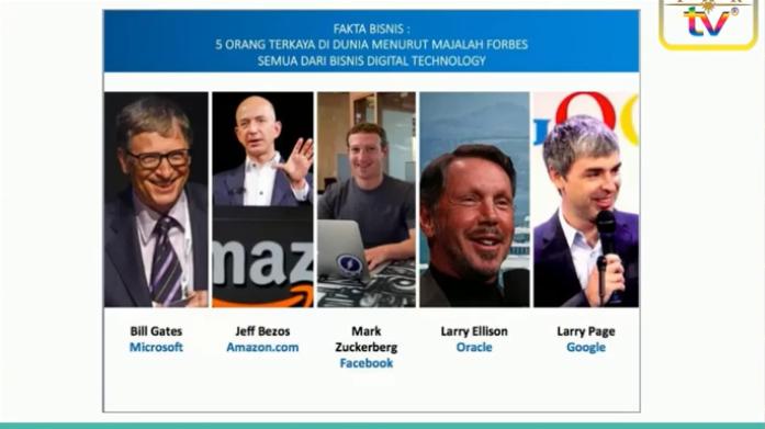 5 Orang Terkaya di Dunia, dan Bisnis Mereka Berbasis IT